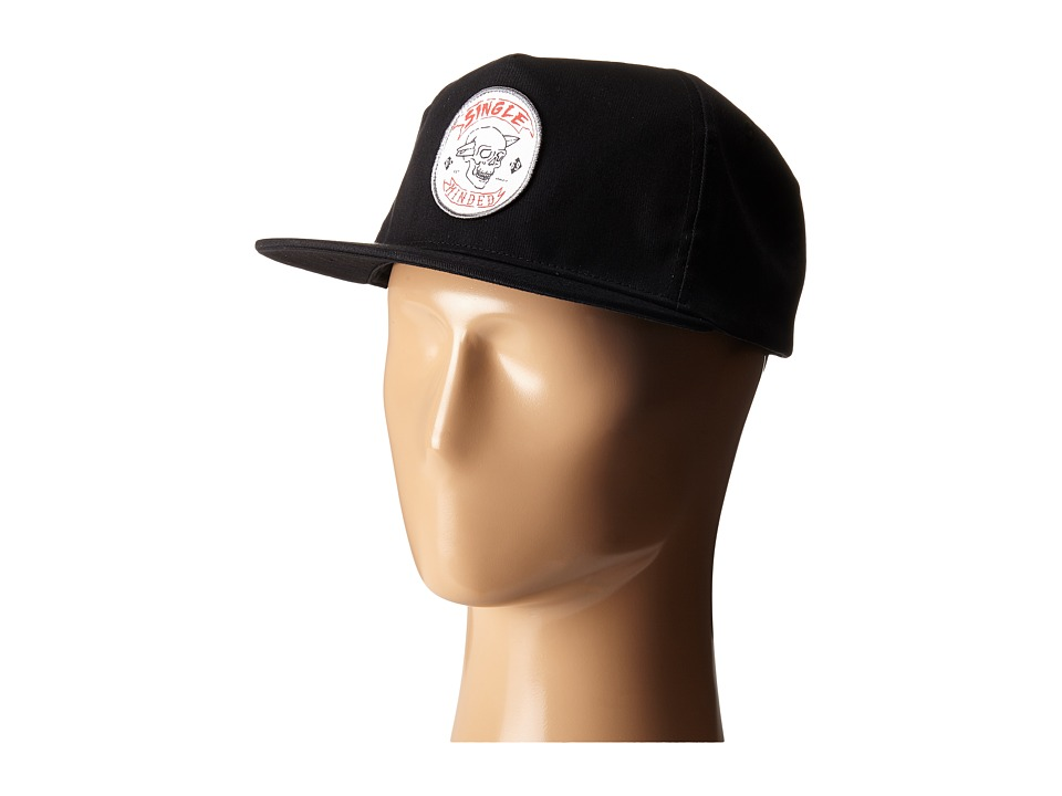 Quiksilver - Focused Snapback (Black) Caps