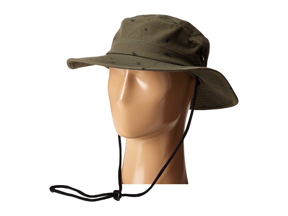 Quiksilver - Commotion Bucket Cap (Bronze Green) Bucket Caps