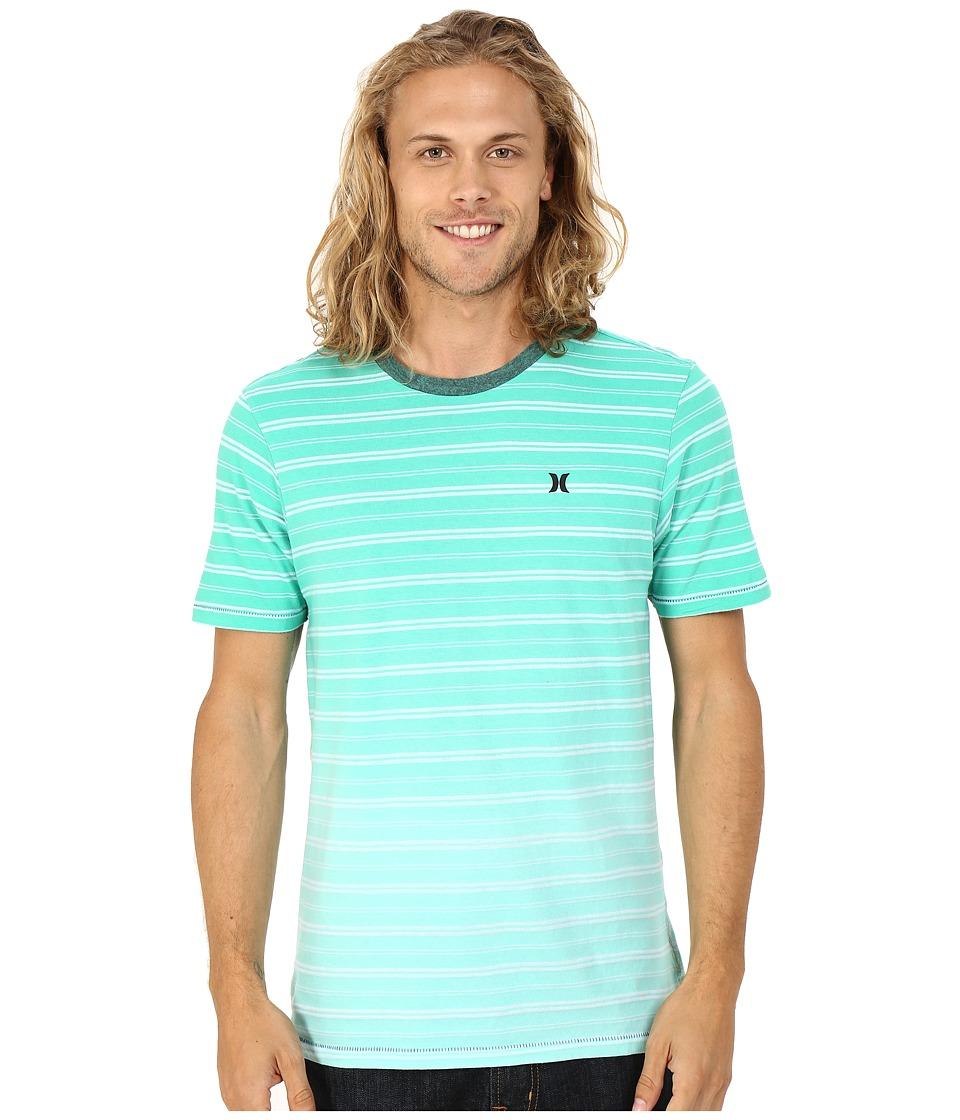 Hurley - Drop Off Knits Crew (Hyper Jade) Men's Short Sleeve Pullover
