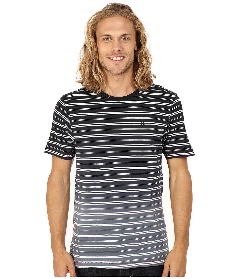 Hurley - Drop Off Knits Crew (Black) Men's Short Sleeve Pullover