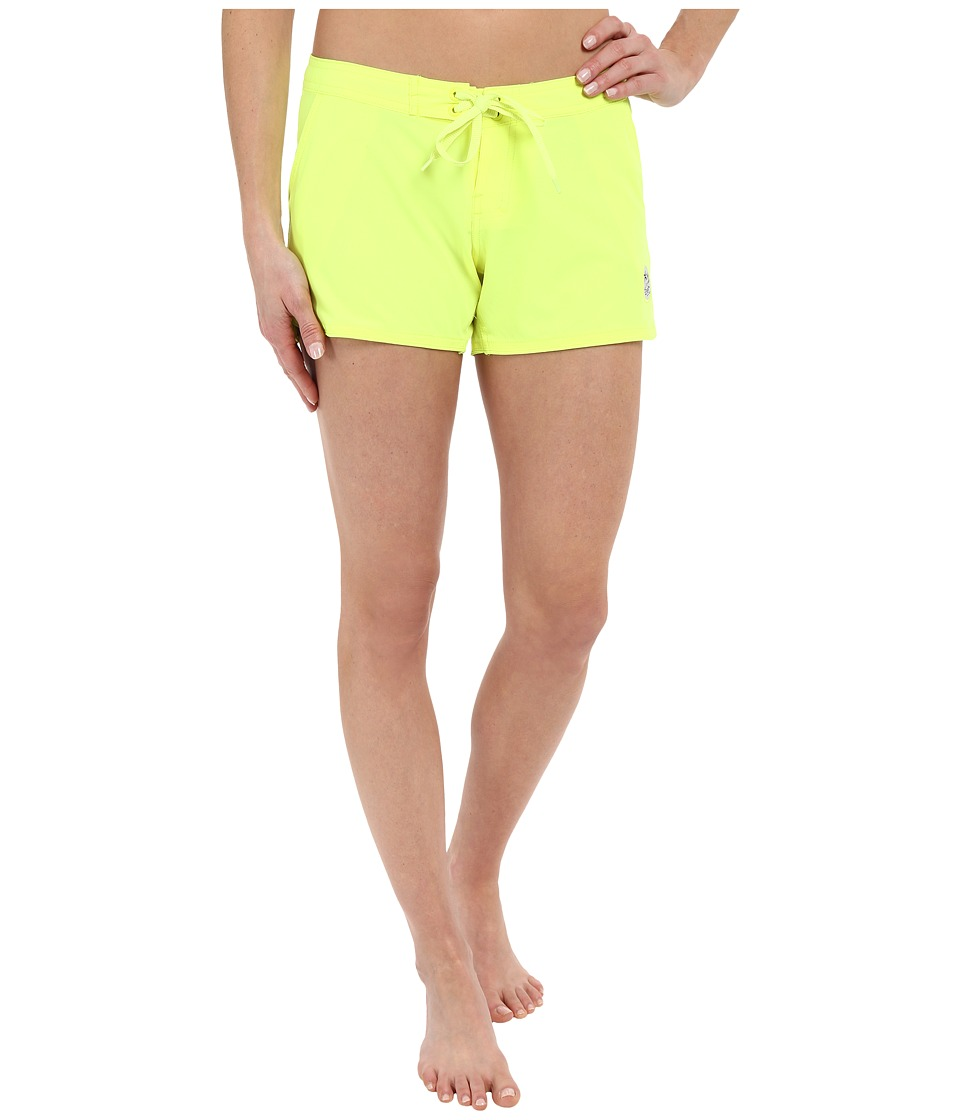 Body Glove - Smoothies Blacks Beach Vapor Boardshorts (Lime) Women's Swimwear