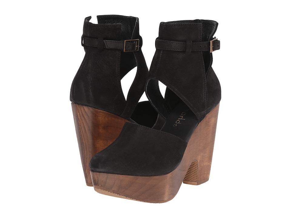 Cordani - Carmen (Black Nubuck) High Heels