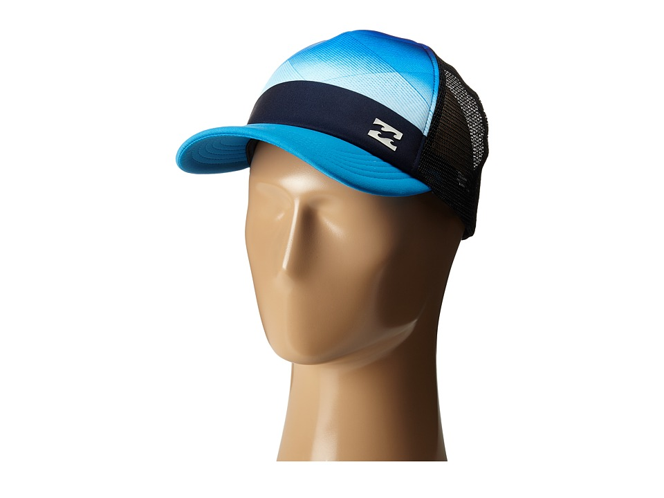 Billabong - Pulse Trucker Hat (Cyan) Caps