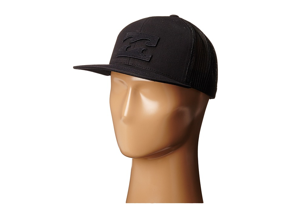 Billabong - All Day Trucker Hat (Stealth) Caps