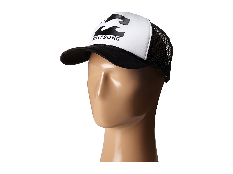 Billabong - Podium Trucker Hat (White) Caps