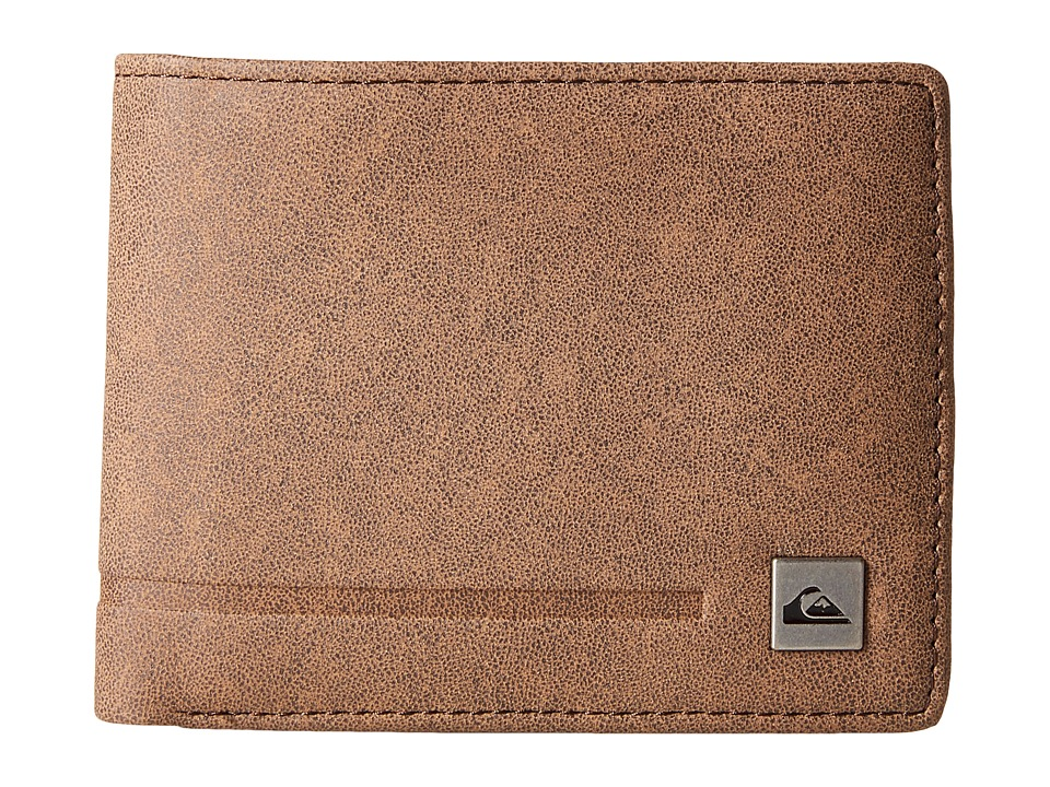 Quiksilver - The Slim Wallet (Chocolate) Wallet Handbags