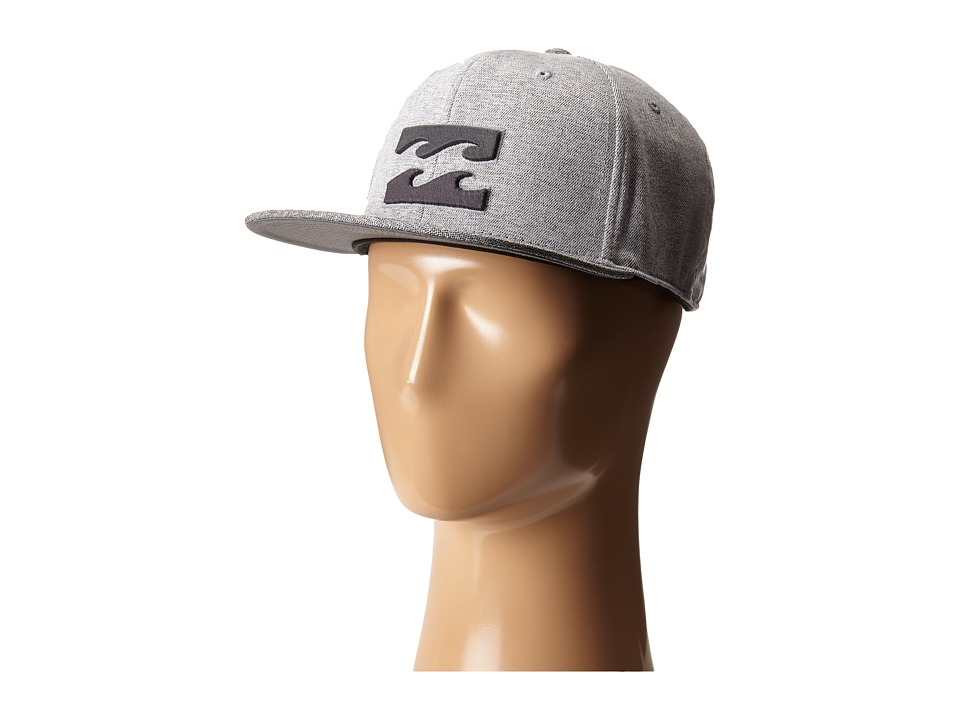 Billabong - All Day 110 Snapback Hat (Silver) Caps