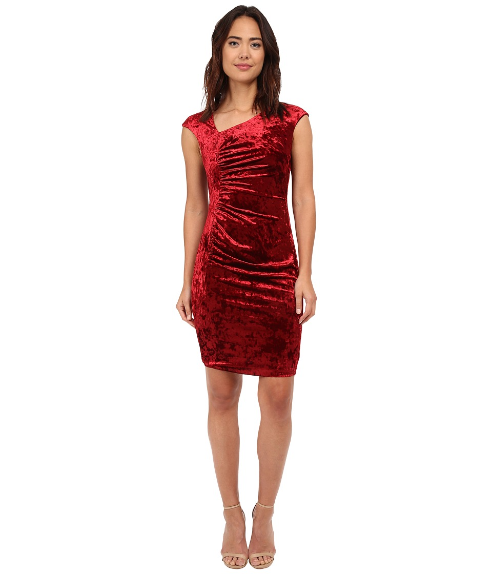 CATHERINE Catherine Malandrino - Kinsey Dress (Crimson) Women's Dress