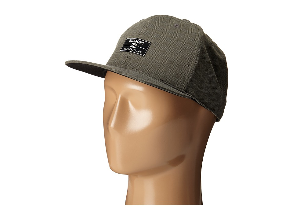 Billabong - Submersible 110 Flexfit Hat (Asphalt) Baseball Caps