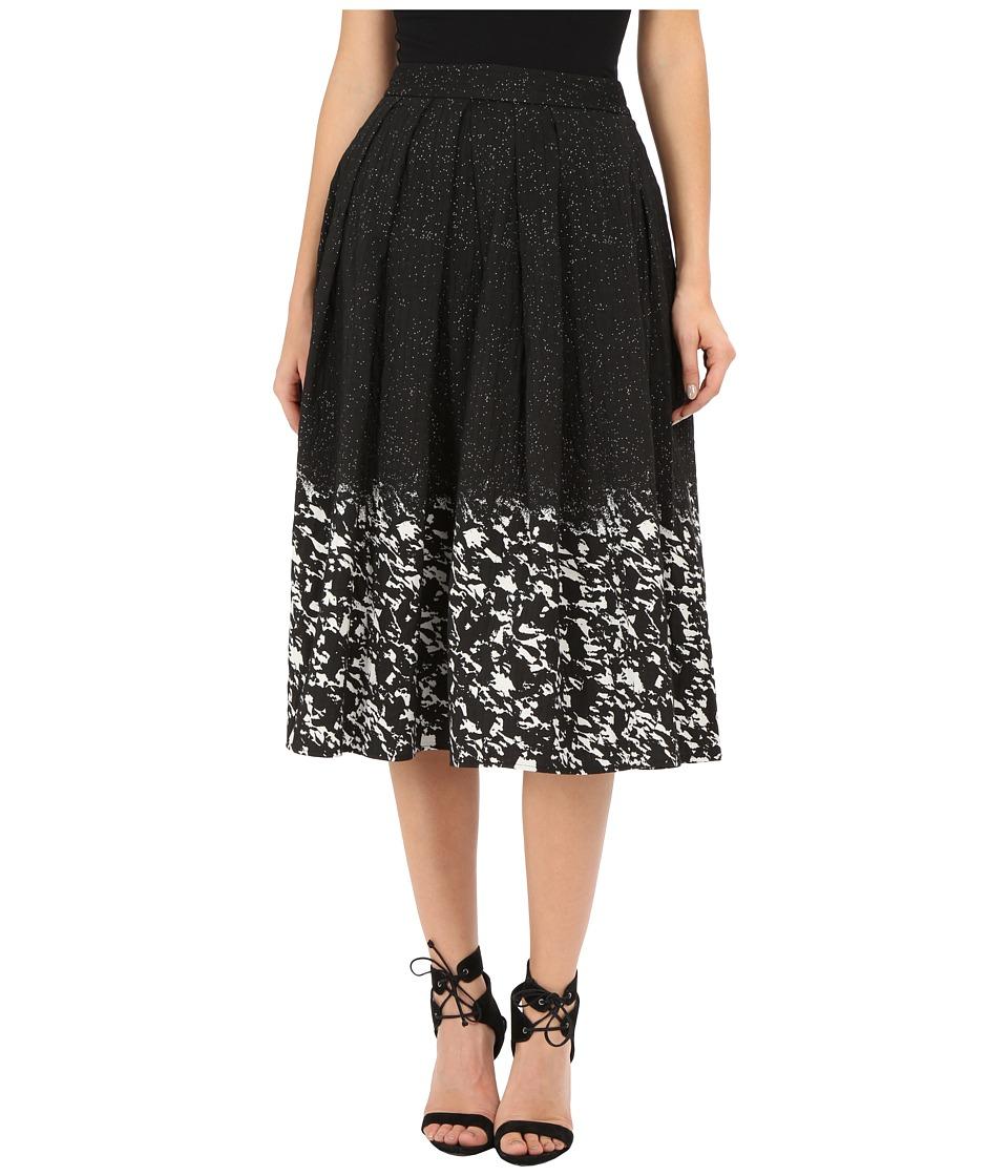 CATHERINE Catherine Malandrino - Ronnie Skirt (Noir/Blanc) Women's Skirt