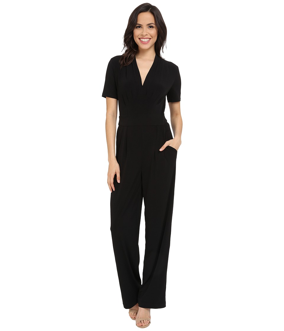 CATHERINE Catherine Malandrino - Kylie Jumpsuit (Noir) Women's Jumpsuit & Rompers One Piece