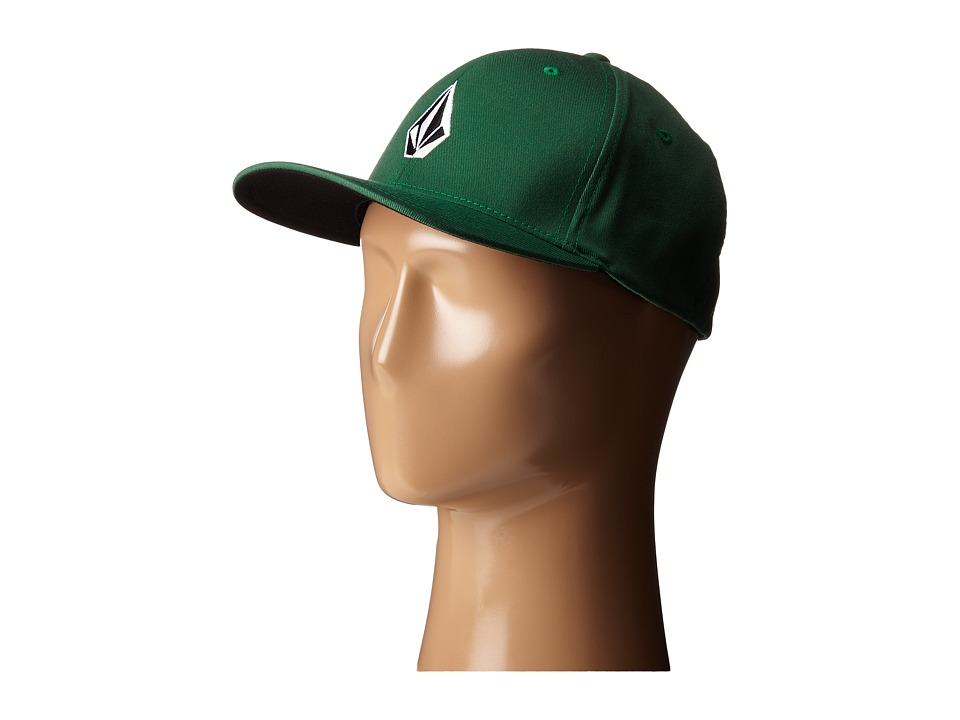 Volcom - Full Stone X-Fit Cap (Forest) Caps