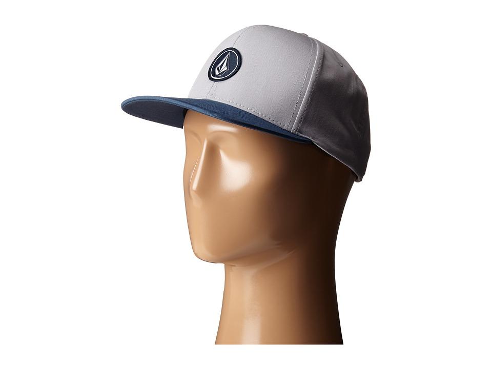 Volcom - Quarter Twill (Grey Blue) Caps
