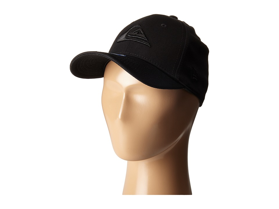 Quiksilver - Mountain Wave Black Hat (Little Kid/Big Kid) (Black) Caps