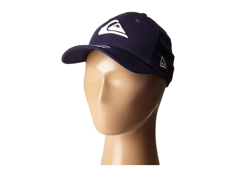 Quiksilver - Mountain Wave Colors Hat (Little Kid/Big Kid) (Navy Blazer/Red) Caps