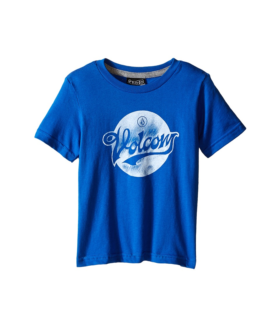 Volcom Kids - Electrode Short Sleeve Shirt (Toddler/Little Kids) (Estate Blue) Boy