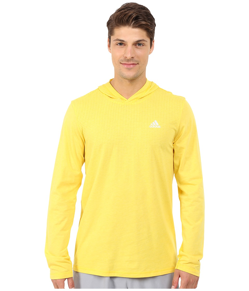 adidas - Aeroknit Hoodie (Super Yellow F15) Men's Sweatshirt