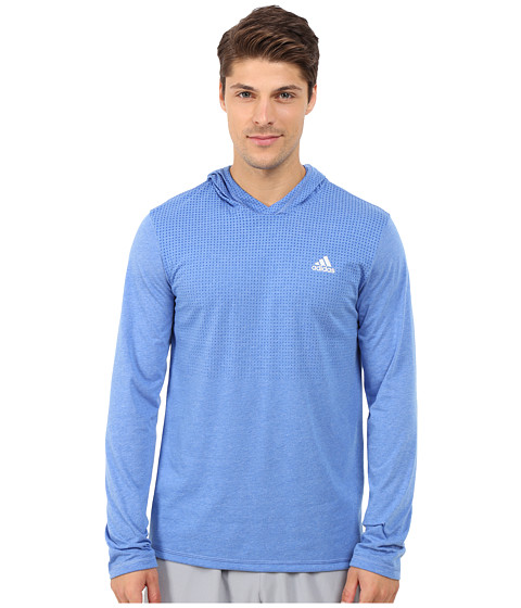 adidas - Aeroknit Hoodie (Blue) Men