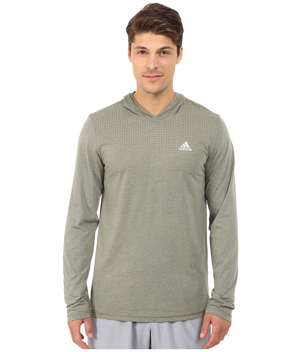 adidas - Aeroknit Hoodie (Base Green S15) Men