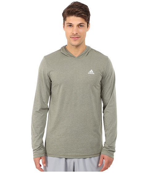 adidas - Aeroknit Hoodie (Base Green S15) Men