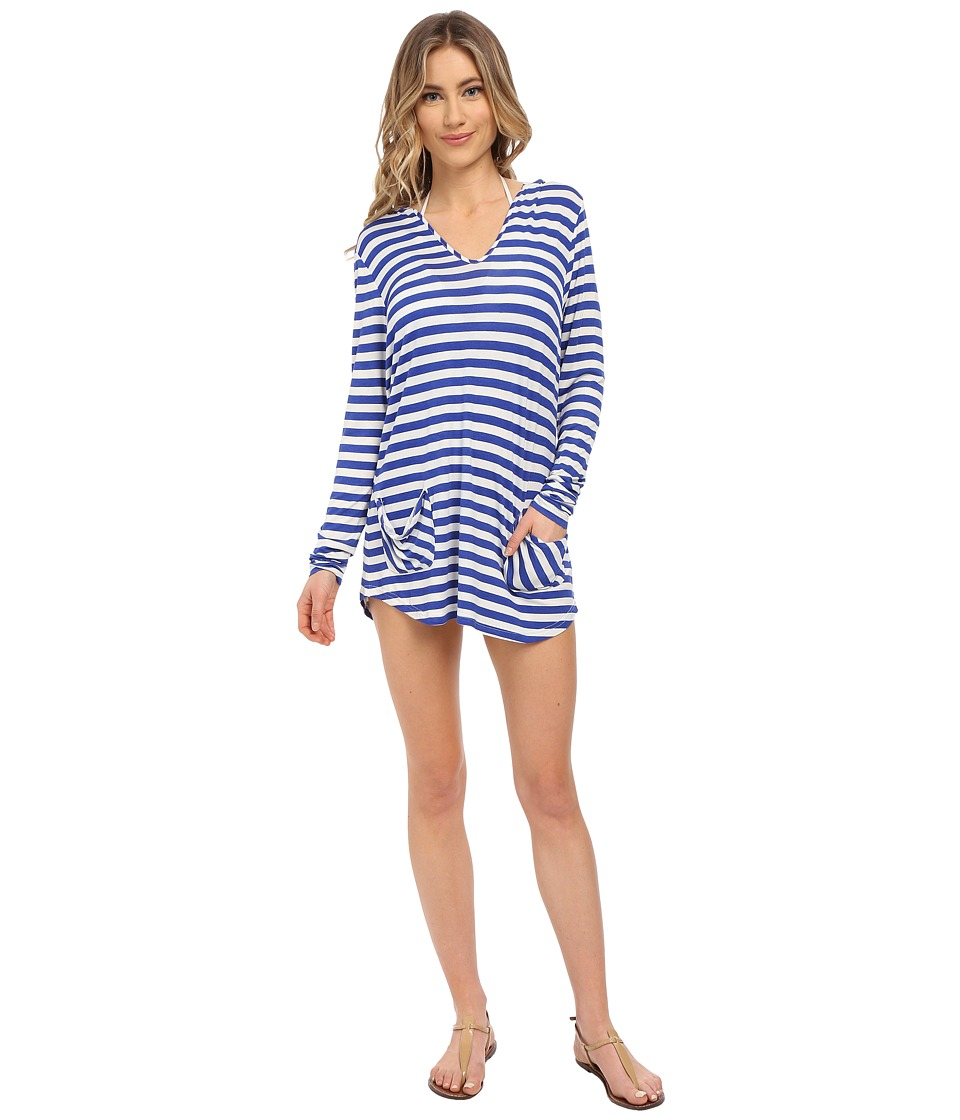 Body Glove - Val L/S Tunic Cover-Up (Abyss) Women's Swimwear