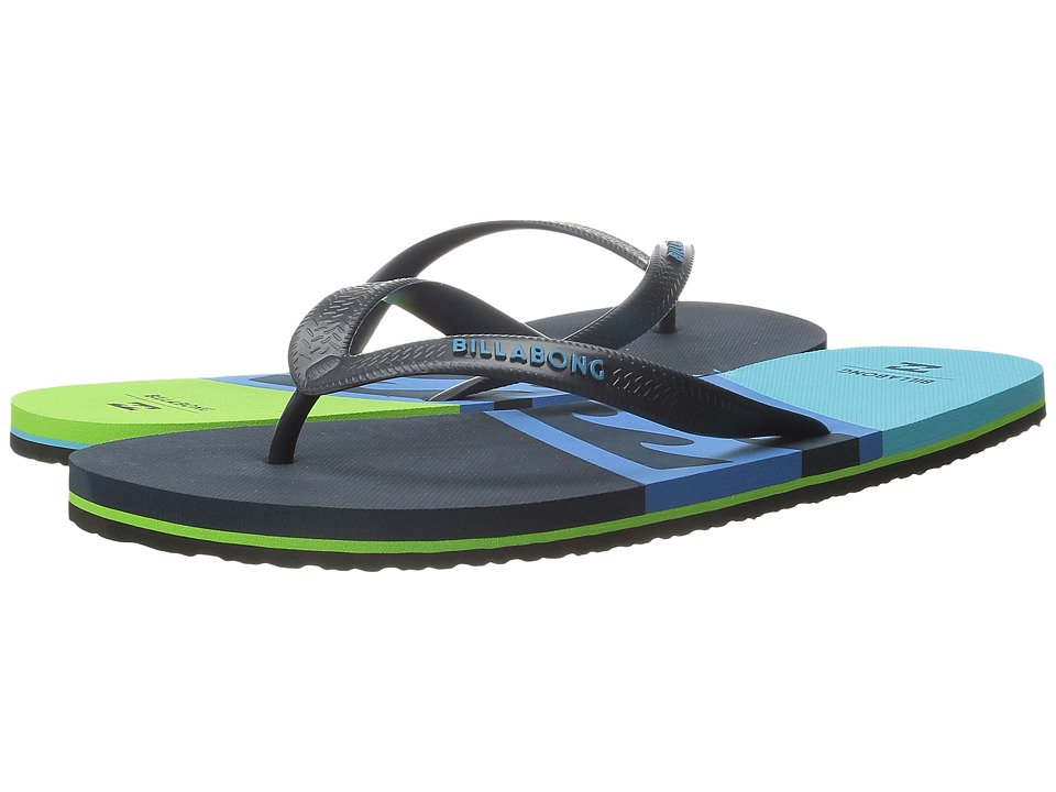 Billabong - Cove Sandal (Blue/Green) Men's Sandals
