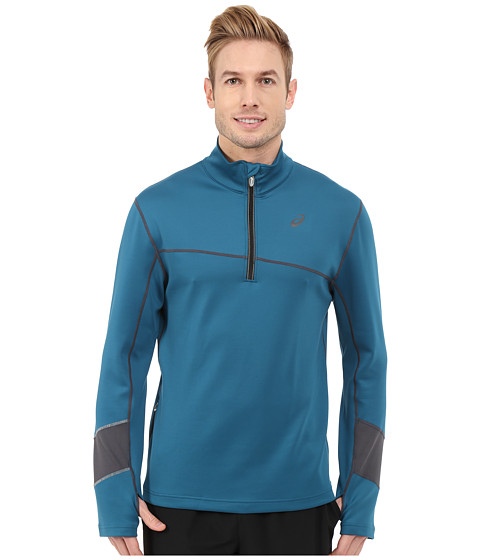 ASICS - Thermal XP 1/2 Zip (Mosaic Blue/Dark Grey) Men