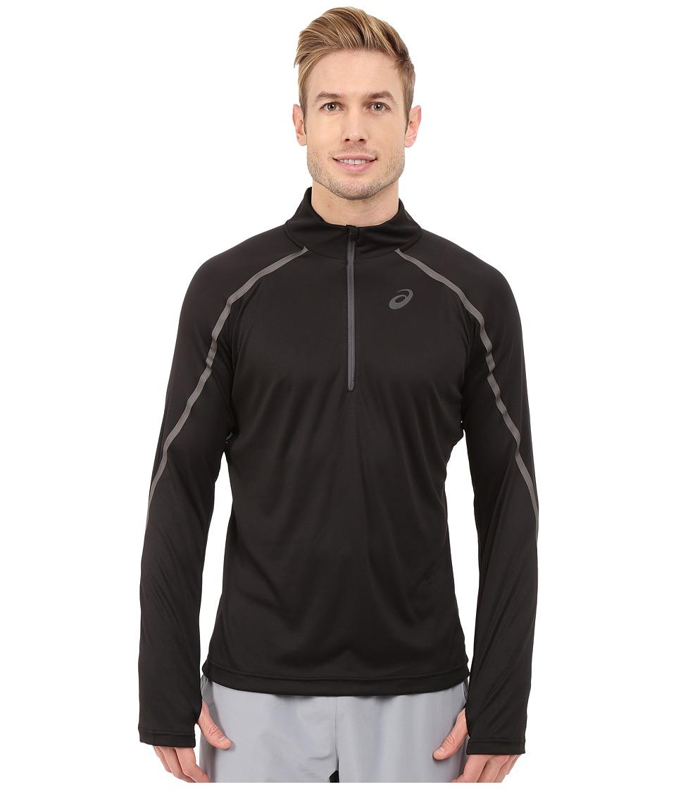 ASICS - Lite-Show Long Sleeve 1/2 Zip (Performance Black) Men's Long Sleeve Pullover