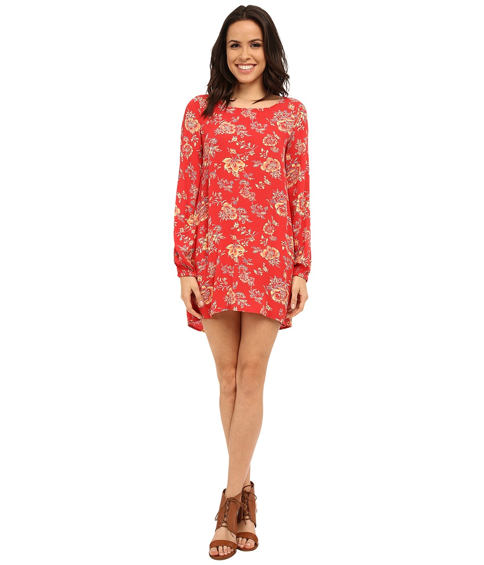 Billabong - Heart Strayed Dress (Hibiscus) Women's Dress