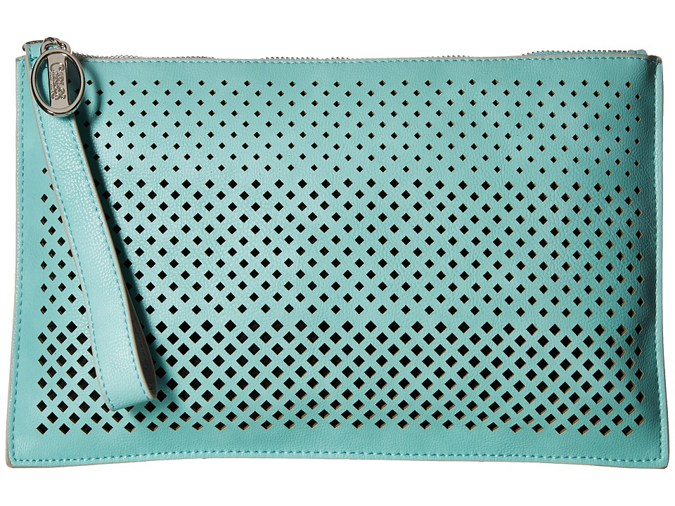 CARLOS by Carlos Santana - Mila Large Clutch (Mint) Clutch Handbags