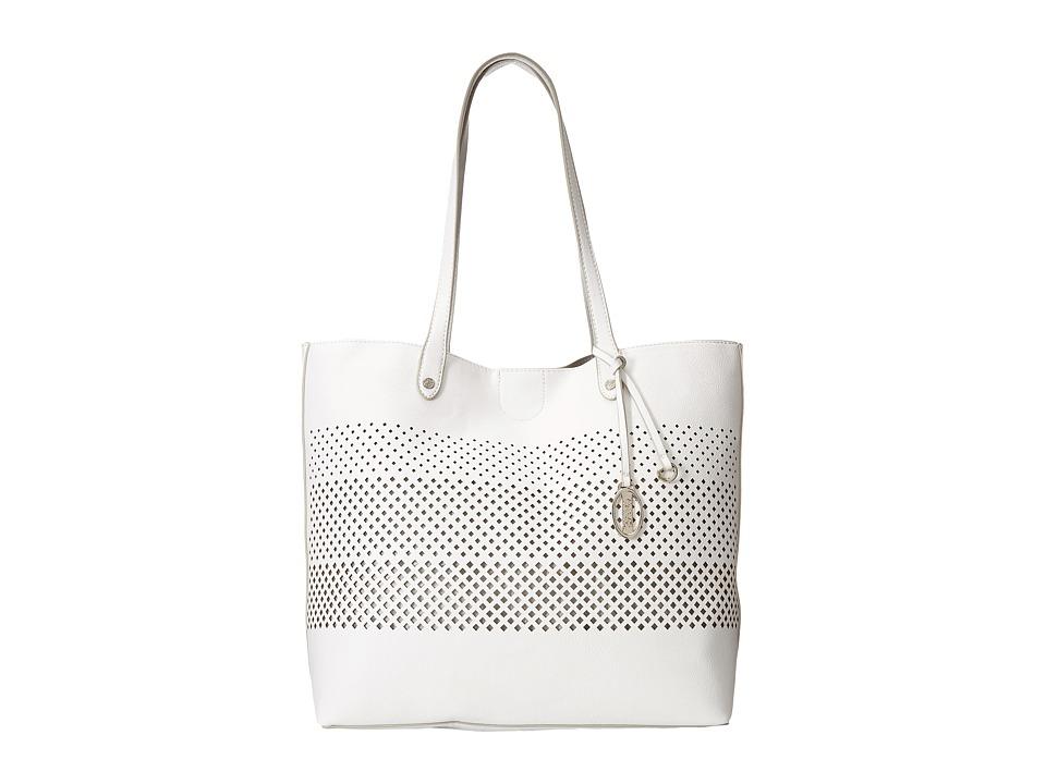 CARLOS by Carlos Santana - Mila Tote (White) Tote Handbags
