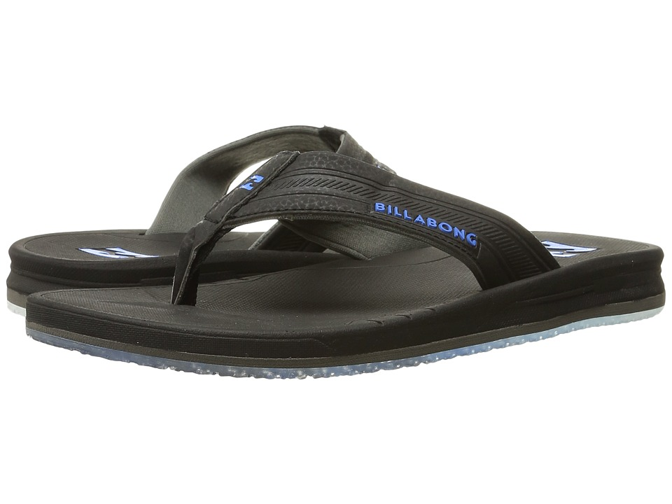 Billabong - Cruiser Prints Sandal (Black/Blue) Men's Sandals