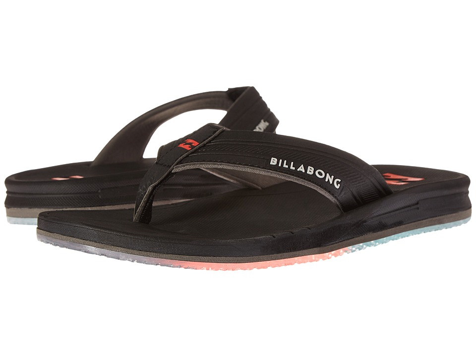 Billabong - Cruiser Prints Sandal (Black/Orange) Men's Sandals