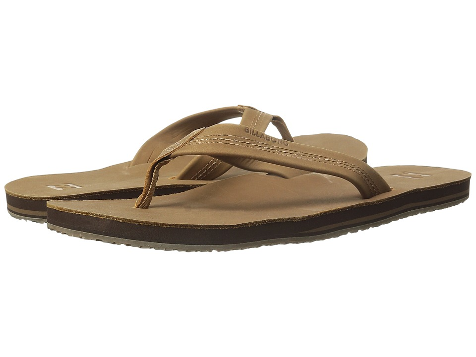Billabong All Day Leather Sandal (Tan) Men