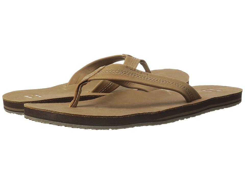 Billabong - All Day Leather Sandal (Tan) Men's Sandals