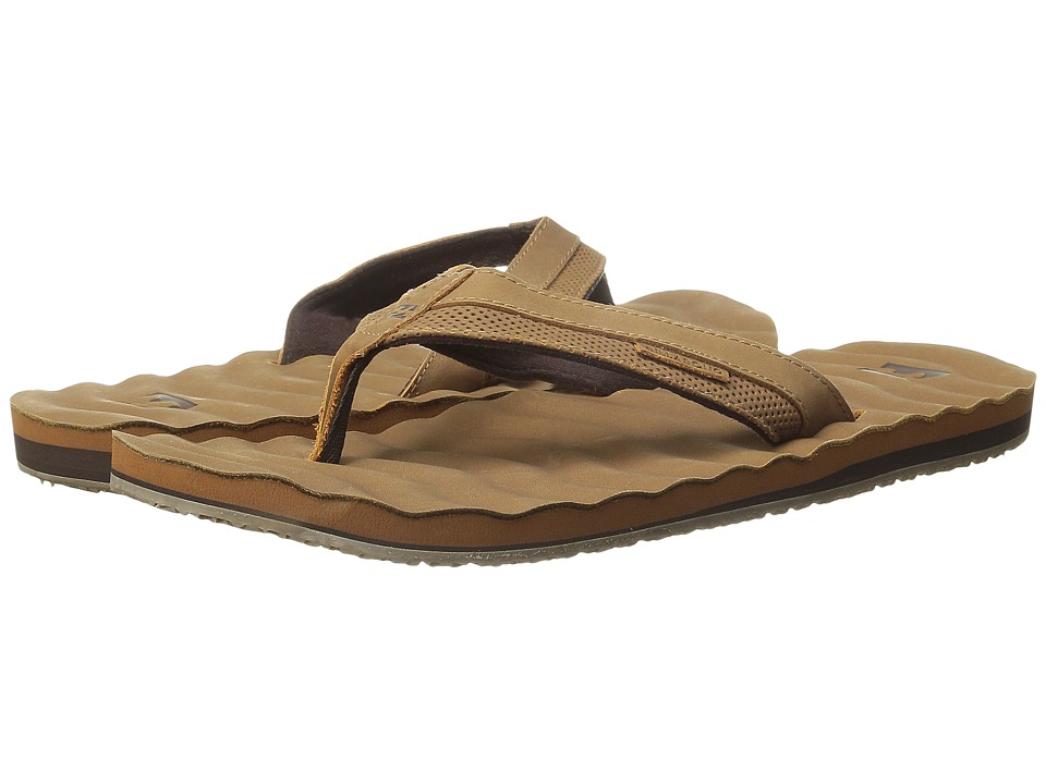 Billabong - Dunes Leather Sandal (Tan) Men's Sandals