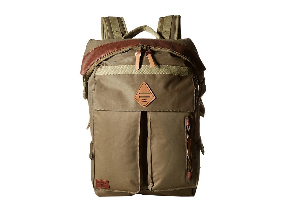 Billabong - Flux Surf Plus Backpack (Military) Backpack Bags