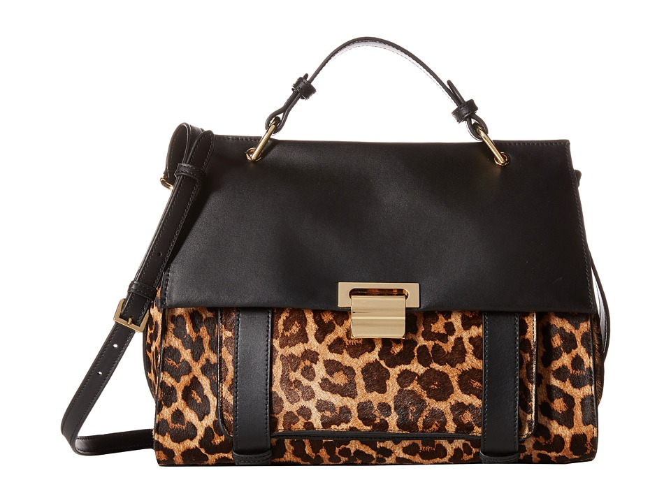 Ivanka Trump - Turnberry Satchel (Natural Leopard Haircalf) Satchel Handbags