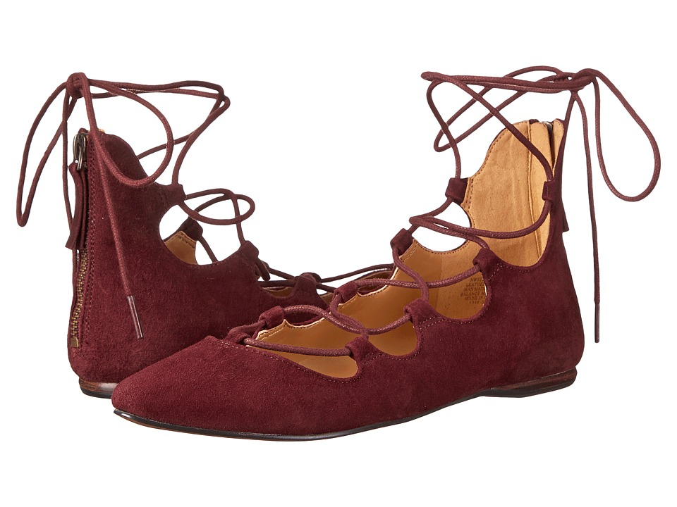 Nine West - Signmeup (Dark Red) Women's Flat Shoes
