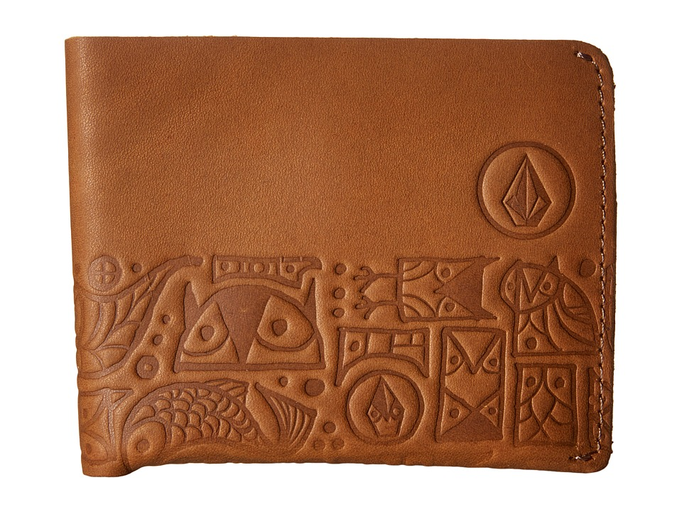 Volcom - Don Pendleton (Brown) Bi-fold Wallet