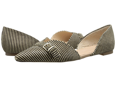 Dr. Scholl's - Tivoli - Original Collection (Black/White Striped Pony) Women's Slip on Shoes