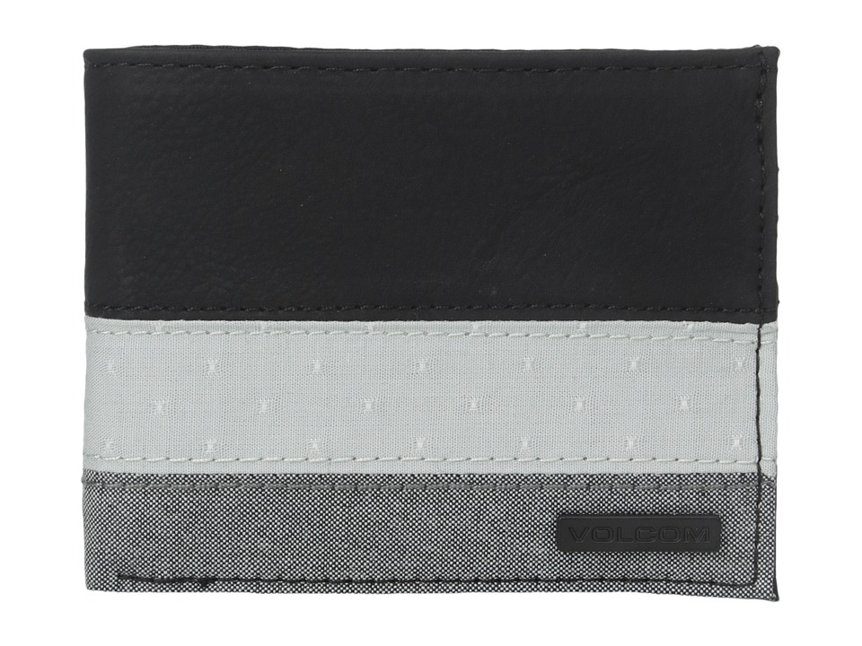 Volcom - Threezy Wallet (Black) Wallet Handbags