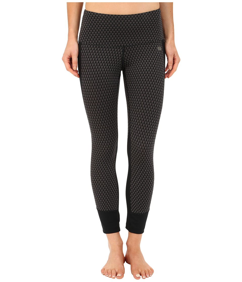 ASICS - Fit-Sana Jacquard Capris (Performance Black) Women's Capri