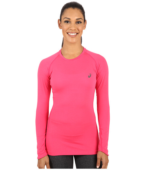 ASICS - FujiTrail Base Layer (Wild Raspberry) Women's T Shirt