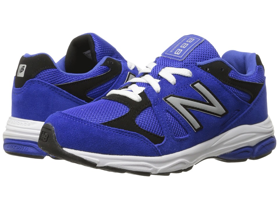 New Balance Kids - 888 (Big Kid) (Blue/Black) Boys Shoes