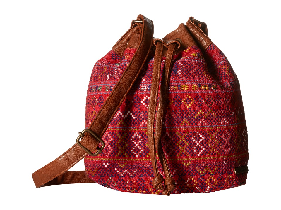 Billabong - Coastline Corner Bucket Bag (Desert Brown) Clutch Handbags