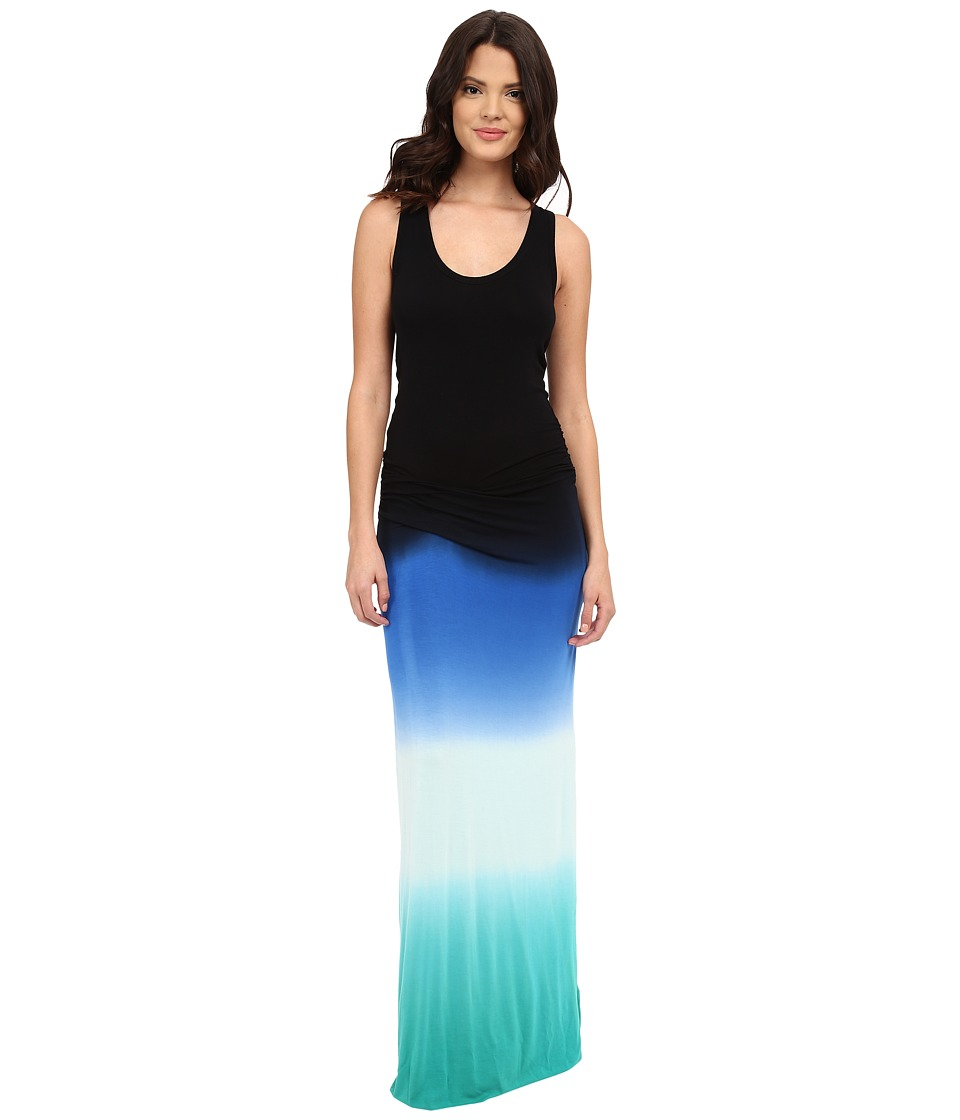 Young Fabulous & Broke - Hampton Maxi (Navy Ombre) Women's Dress
