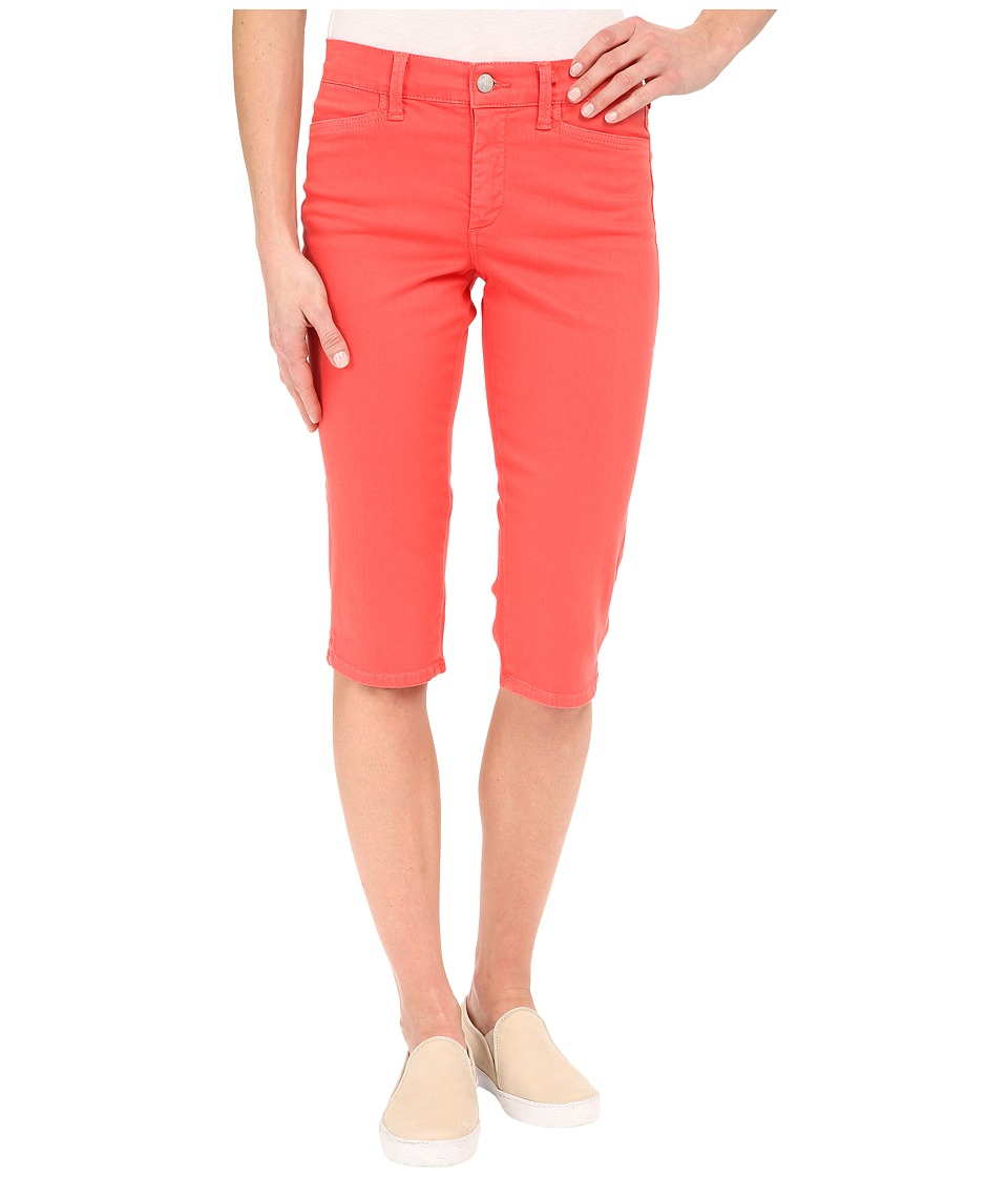 NYDJ - Kaelin Skimmer in Coral Branch (Coral Branch) Women's Jeans