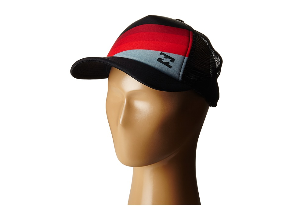 Billabong - Slice Trucker Hat (Big Kids) (Deep Red) Caps