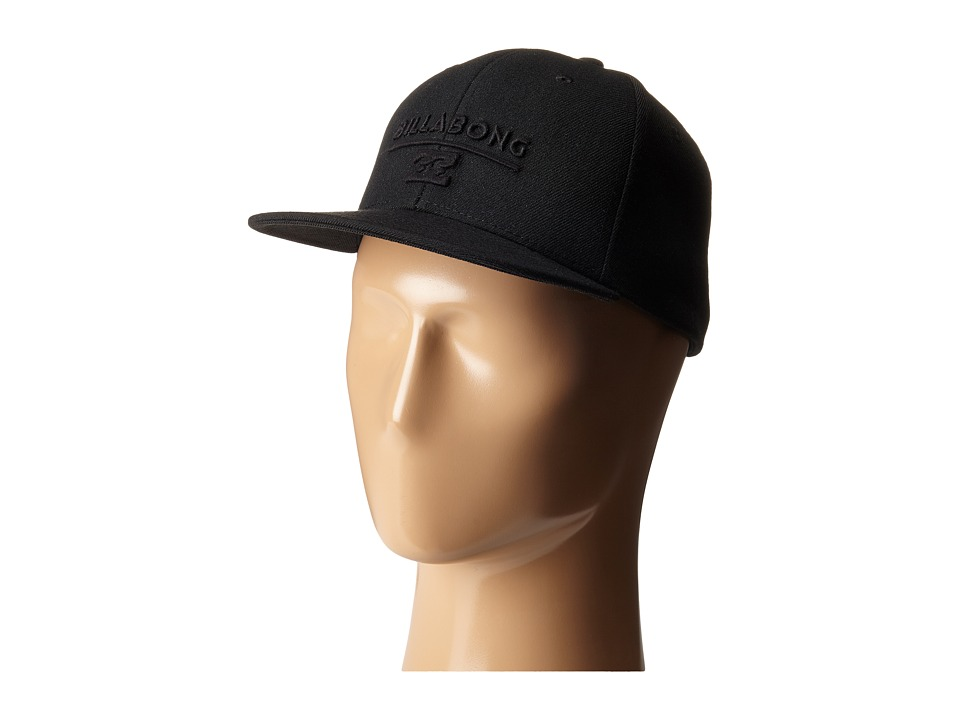 Billabong - System Snapback Hat (Big Kids) (Stealth) Baseball Caps
